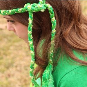 Other - MollyBobBraids Handmade Braided Headband 💚